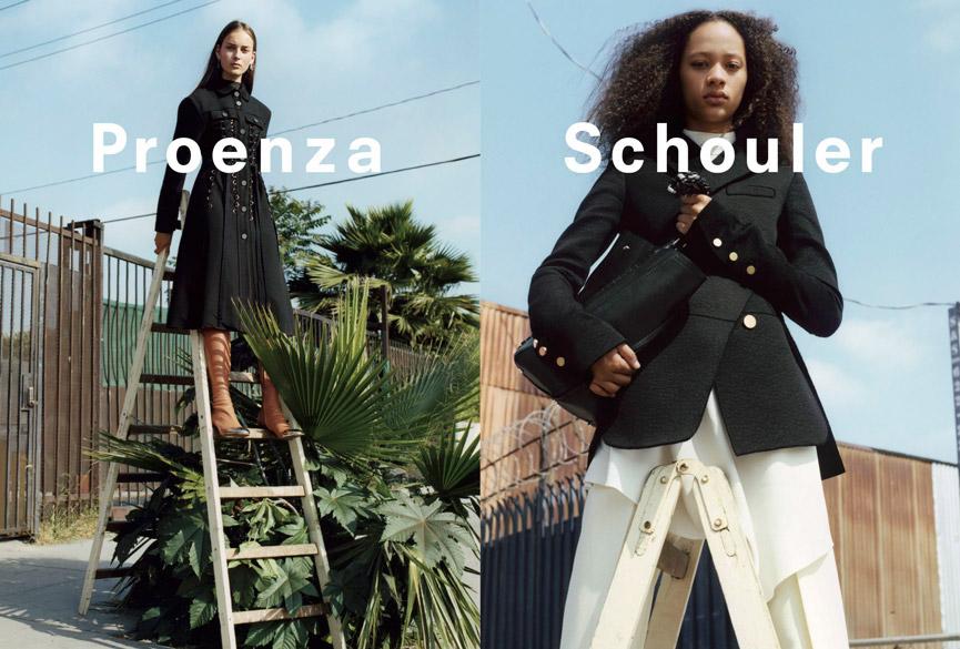 Proenza Schouler Fall Winter 2016.17 by Zoe Ghertner