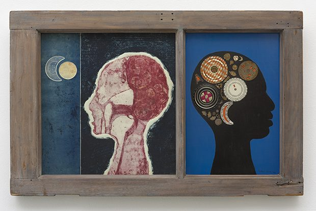 1 - Betye Saar, The Phrenologers Window II, 1966