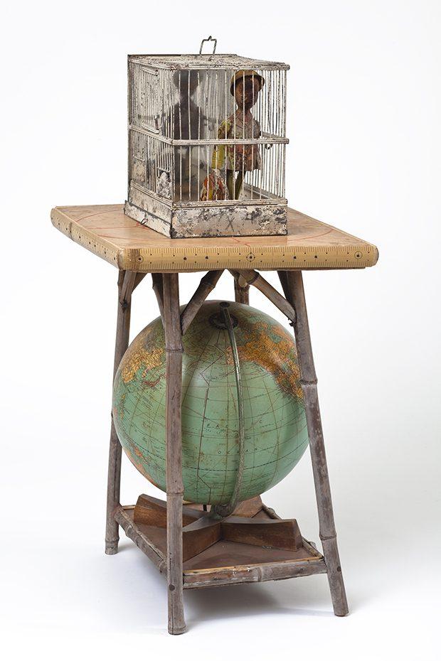 13 - Betye Saar, Globetrotter, 2007