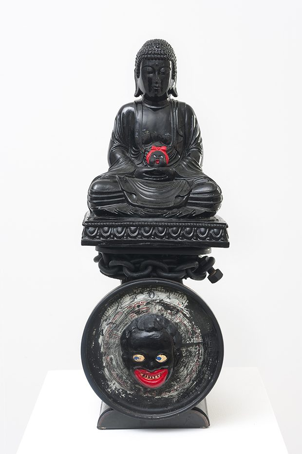16 - Betye Saar, The Weight Of Buddha, 2014