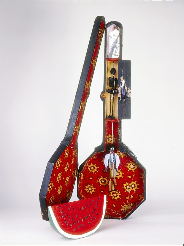 3 - Betye Saar, Sambo's Banjo, 1971-72