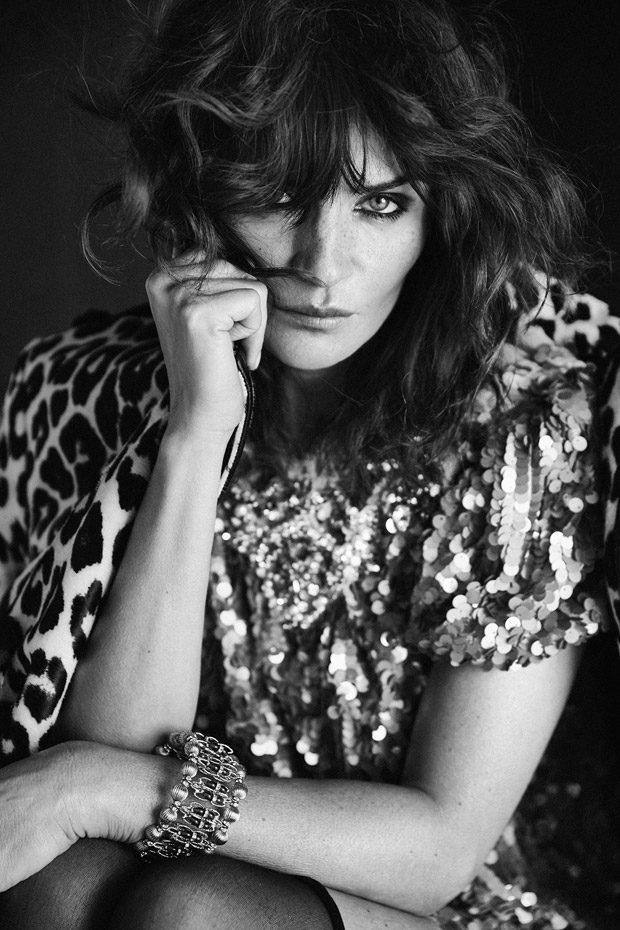 Helena Christensen Stars In Vogue Portugal September 2016