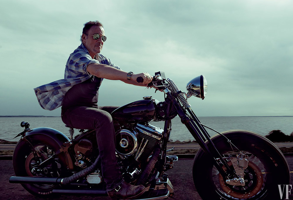 Rock Star Bruce Springsteen Takes Vanity Fair October 2016