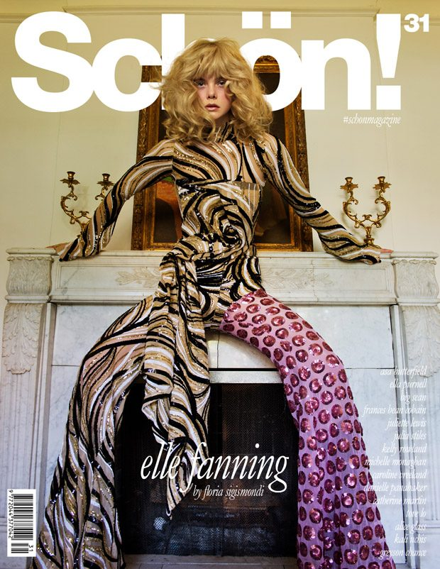 Elle Fanning Covers Schön! Magazine #InMotion Issue