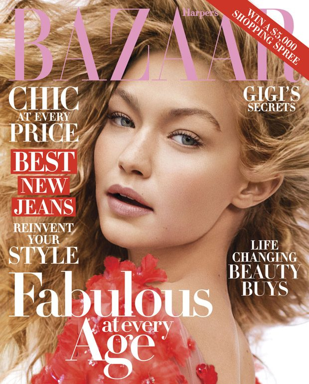 Couture Fairy Tale with Gigi Hadid for Harper's Bazaar ...
