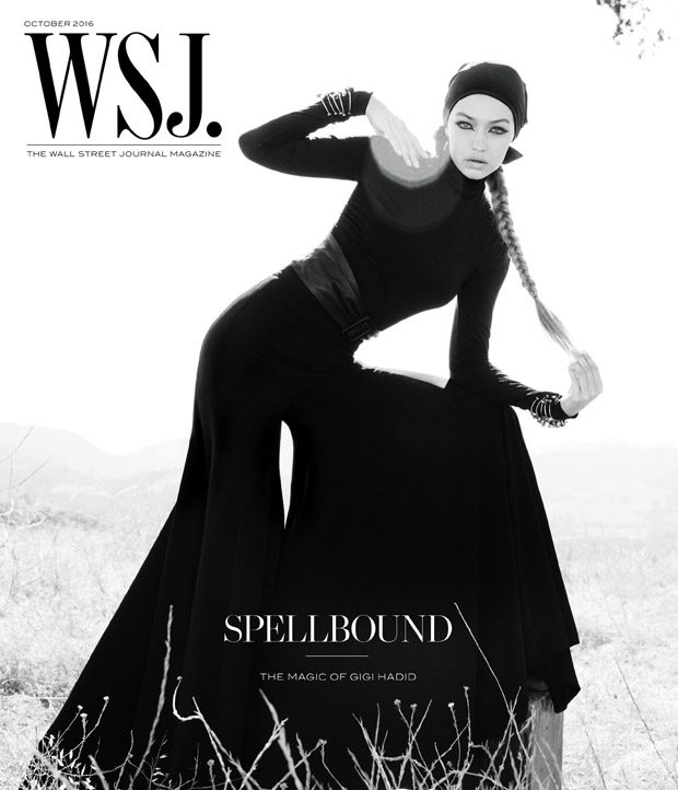 Gigi Hadid is Mesmerizing for WSJ. Magazine October 2016 Issue