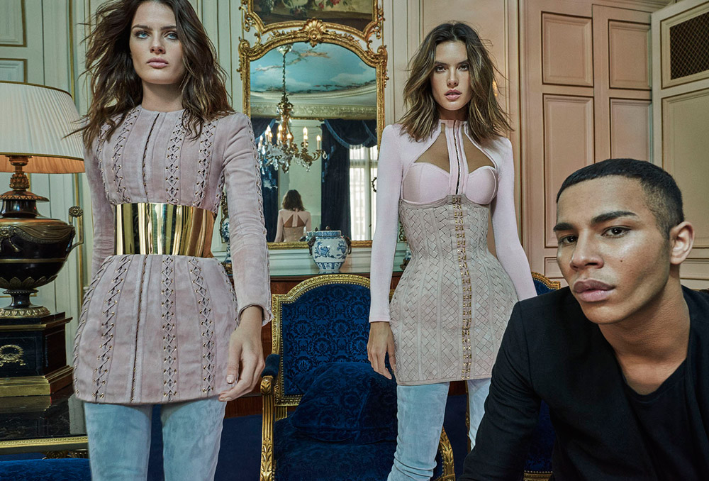 d39bbc6abdcb1 Alessandra Ambrosio & Isabeli Fontana Dazzle in Balmain for Vogue Brazil