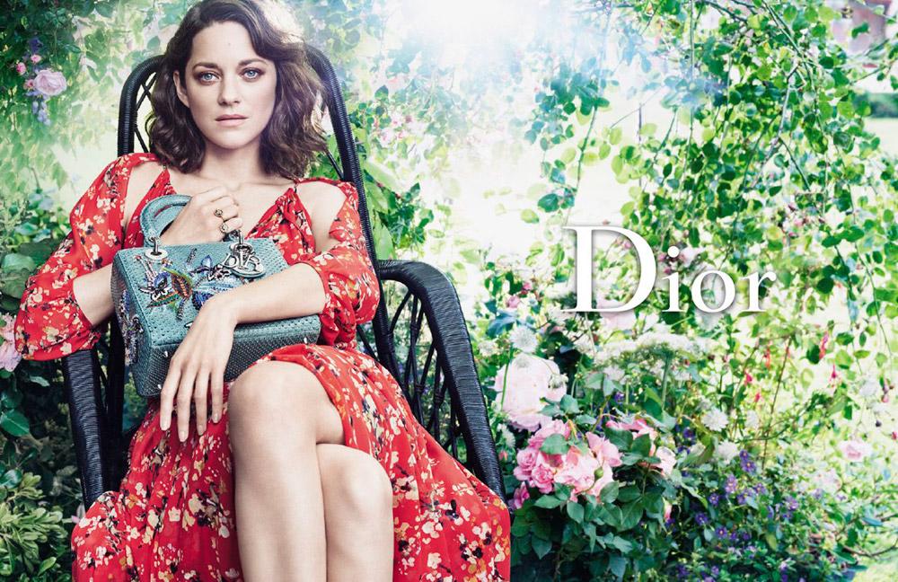 Marion Cotillard Stars in Lady Dior Fall Winter 2016.17 Campaign db2d3d927d2ef