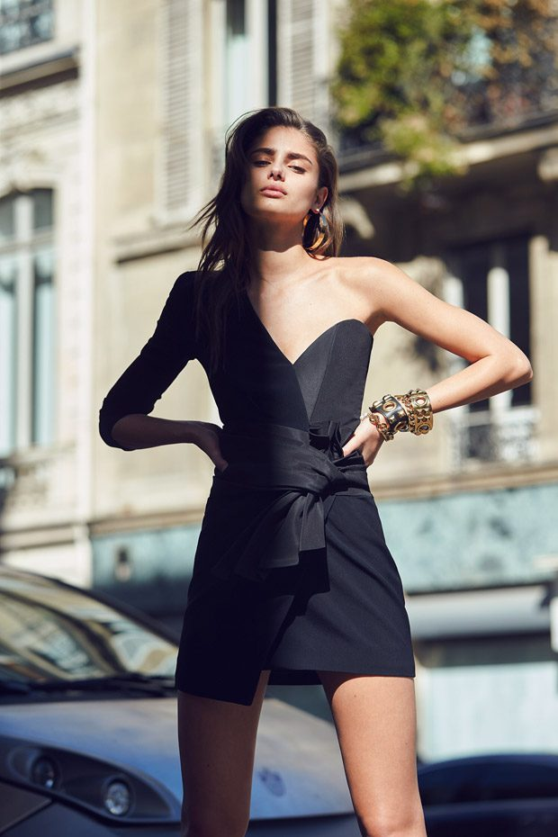 Taylor Hill Dazzles For Alexandre Vauthier Spring Summer 2017 Lookbook