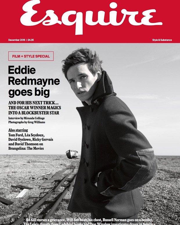Eddie Redmayne Is the Cover Star of Esquire UK December ...