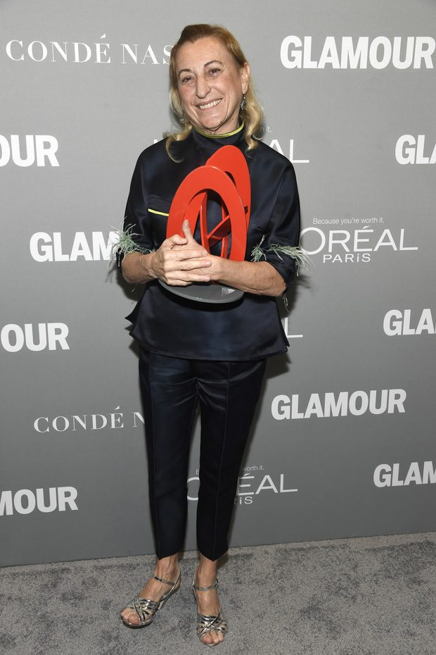 LOS ANGELES, CA - NOVEMBER 14: Honoree Michele Dauber poses with an award during Glamour Women Of The Year 2016 at NeueHouse Hollywood on November 14, 2016 in Los Angeles, California. (Photo by Frazer Harrison/Getty Images for Glamour)