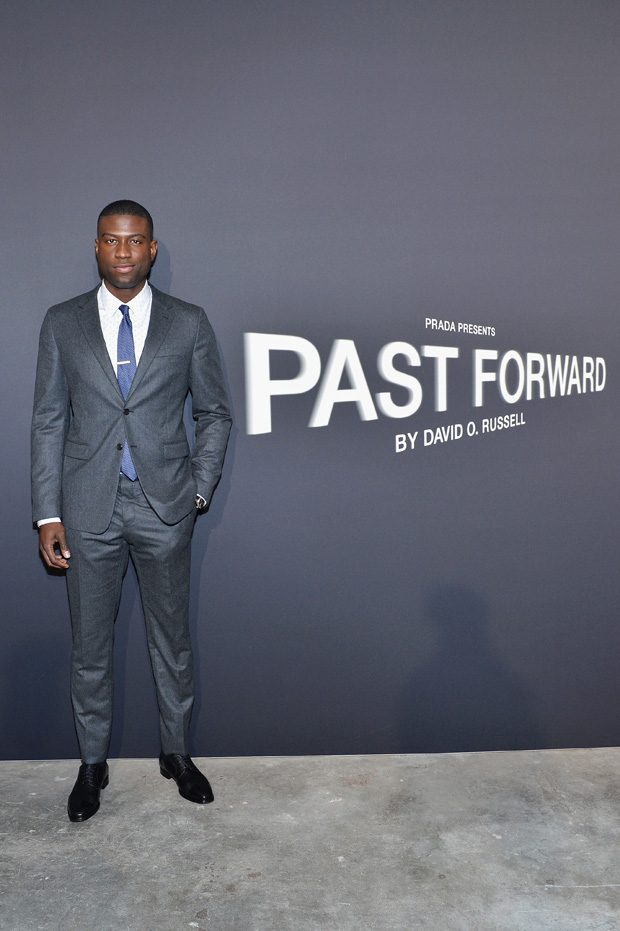 LOS ANGELES, CA - NOVEMBER 15: Actor Sinqua Walls attends the premiere of 'Past Forward', a movie by David O. Russell presented by Prada on November 15, 2016 at Hauser Wirth Schimmel Gallery in Los Angeles, California. (Photo by Stefanie Keenan/Getty Images for PRADA) *** Local Caption *** Sinqua Walls