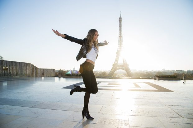 PARIS, FRANCE - NOVEMBER 29: Josephine Skriver attends a photocall for the Victoria's Secret Angels ahead of the annual fashion show at The Eiffel Tower, on November 29, 2016 in Paris, France (Photo by Pascal Le Segretain/Getty Images for Victoria's Secret)