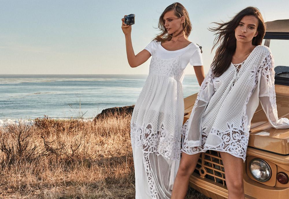 Sasha Pivovarova & Emily Ratajkowski Star in Twinset Spring Summer ...