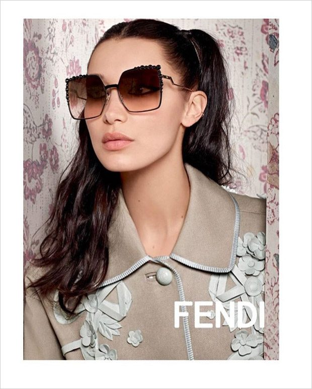 a3d9196301 1ST LOOK  Bella   Gigi Hadid for Fendi Spring Summer 2017 Campaign