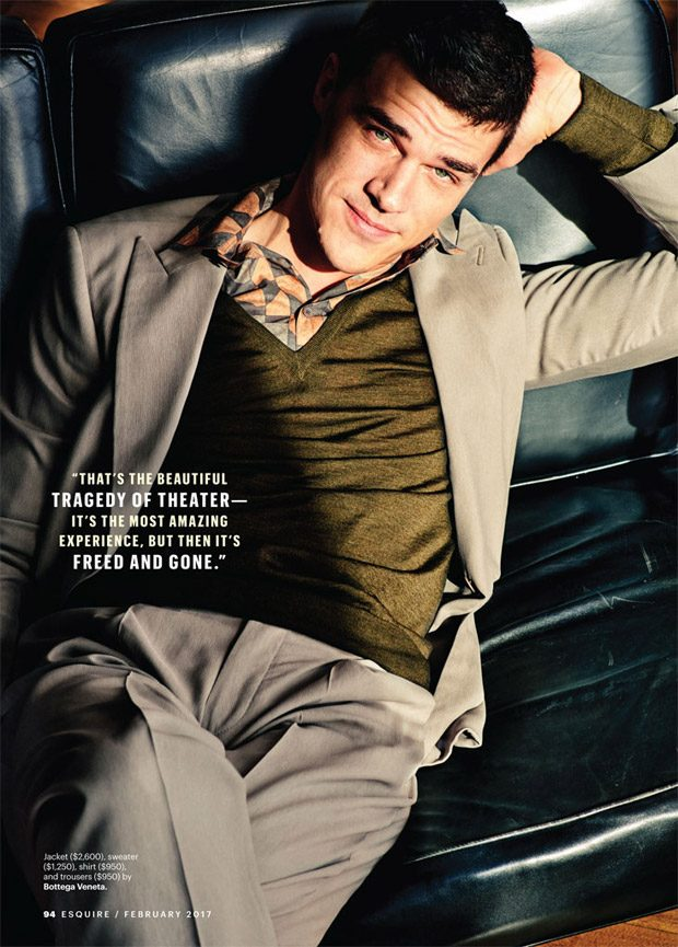 AHS Star Finn Wittrock Poses for Esquire Magazine February ...