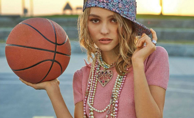 Lily rose depp rocks chanel for jalouse january 2017 cover for Lily rose designer