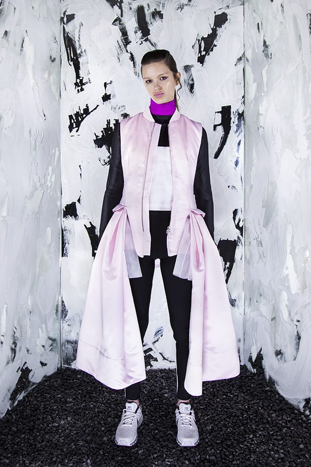 #LFW Caitlin Price Fall Winter 2017.18 Collection