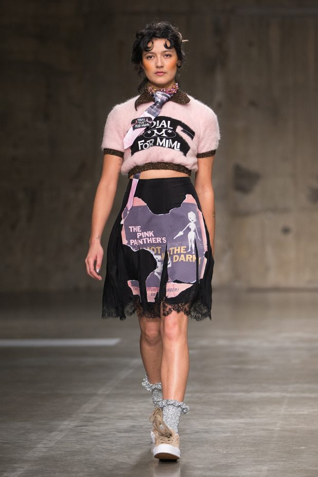 lfw mimi wade autumn winter 2017 collection