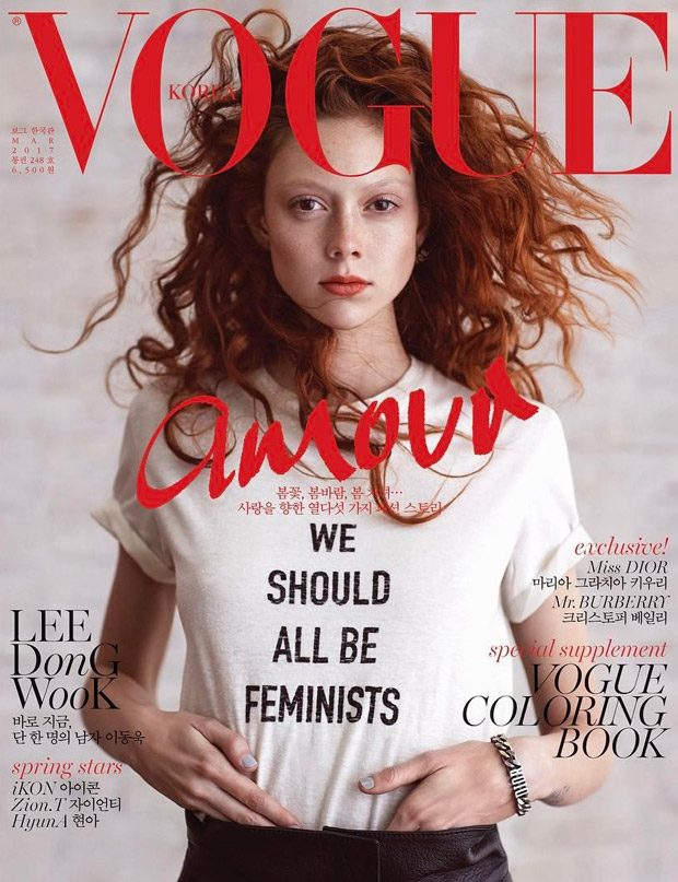 Natalie Westling Stuns in Dior for Vogue Korea March 2017 Issue