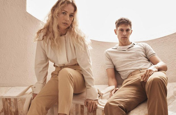 Raquel Zimmermann & Mathias Lauridsen for Mango Committed Collection