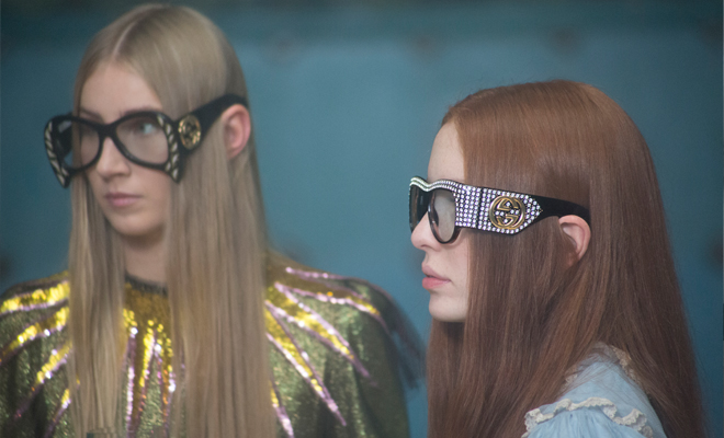48463314929  VIDEO  Gucci Spring Summer 2017 Eyewear Collection Video by Petra Collins