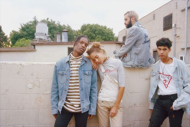 A$AP Rocky X GUESS Originals Collaboration