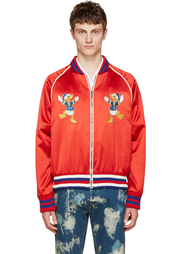 91985eeca Discover all the pieces from GUCCI's Donald Duck capsule collection for Spring  2017. Featuring T-shirts, hoodies, sweaters, knitwear and shoes with Donald  ...