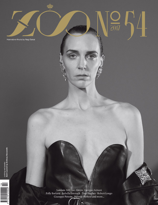 Hannelore Knuts Stuns in Saint Laurent for Zoo Magazine ... - photo#13