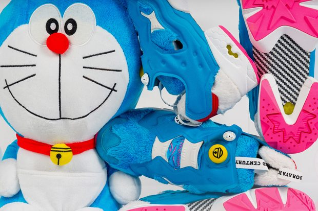 57e2f574354 Reebok x Packer x atmos  Instapump Fury Doraemon