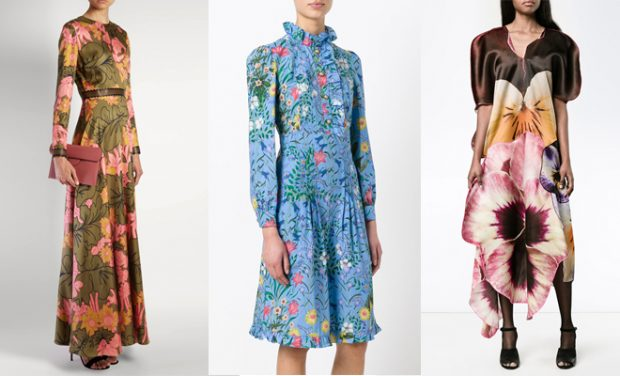 The Spring Summer 2017 Runways Were Flooded With Astonishing Bouquet Of Fls Celebrate Perfect Fl Dresses To Suit Every Style And