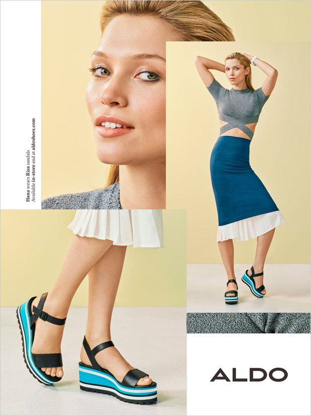 Hana Jirickova Alanna Arrington Yuka Mannami For Aldo Shoes Spring Summer 2018