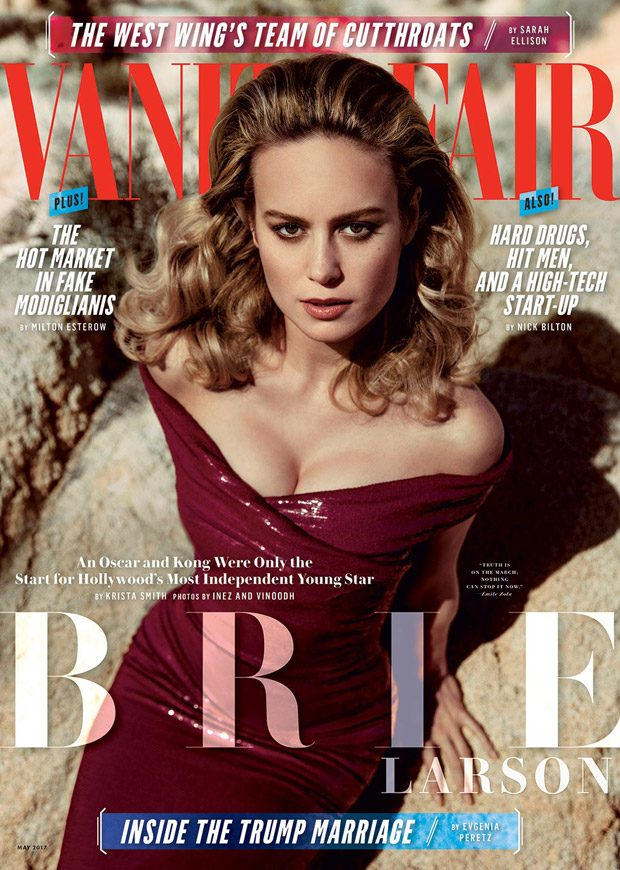 Brie Larson Is The Cover Star Of American Vanity Fair May
