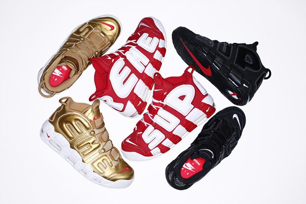 3aa7a9fd05be Supreme X Nike Air More Uptempo