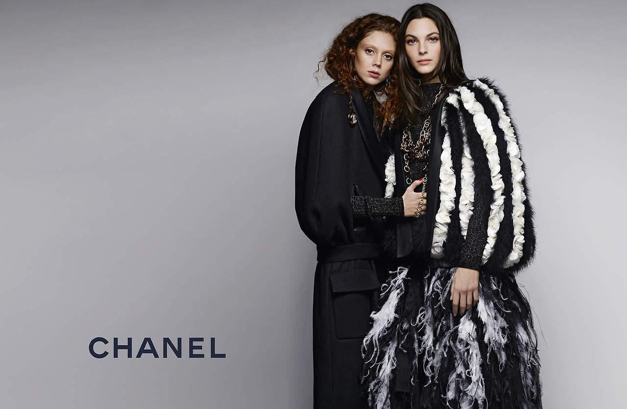 Chanel's Pre-Fall 2019 Campaign Features Natalie Westling Vittoria Ceretti advise