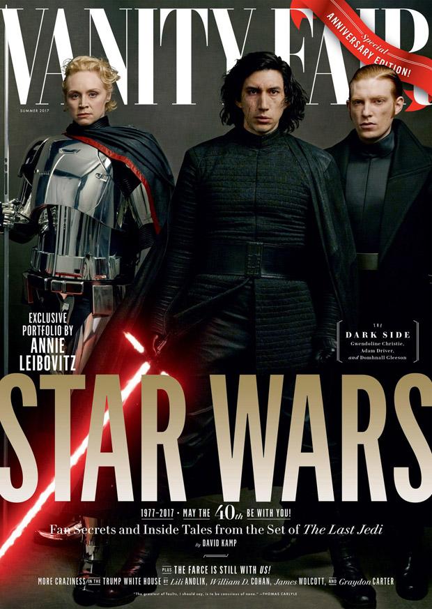 Star Wars The Last Jedi Cast Cover Vanity Fair Summer