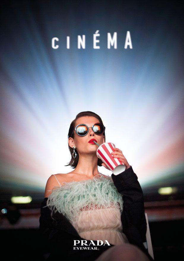 c3a1287f0b Prada Cinéma Spring Summer 2017 Eyewear Film