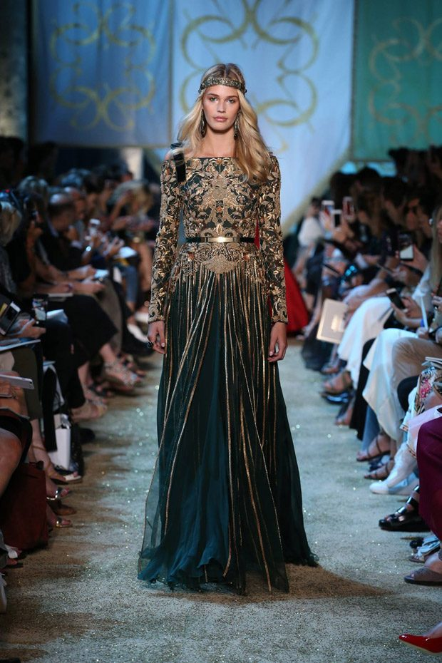 Elie saab fall winter haute couture collection for Haute translation