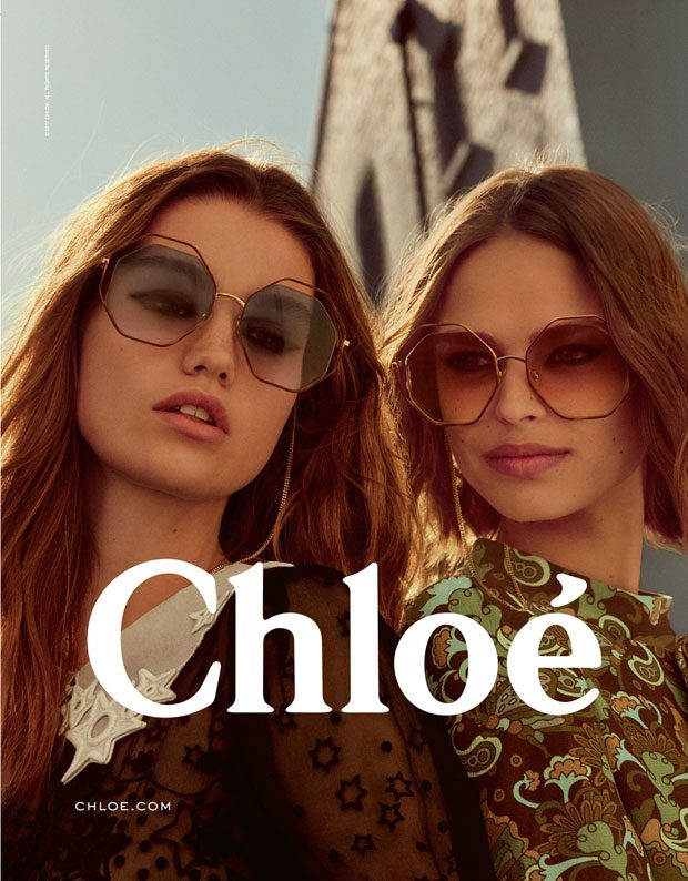 Chloé On The Move For It's Fall Collection With Models Birgit Kos & Luna Bijl