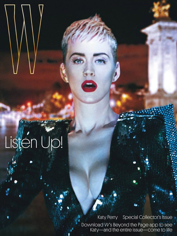 Katy Perry Stars in the Cover Story of W Magazine September 2017 Issue