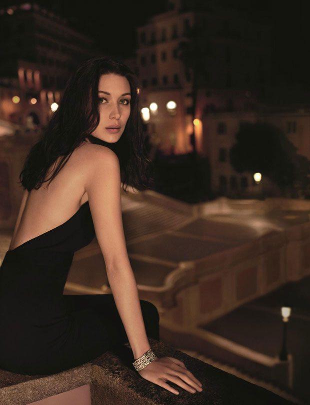 Bella Hadid Becomes The Face of BVLGARI Goldea The Roman Night