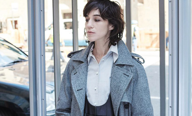 Charlotte Gainsbourg Is The Cover Girl Of L Express Styles