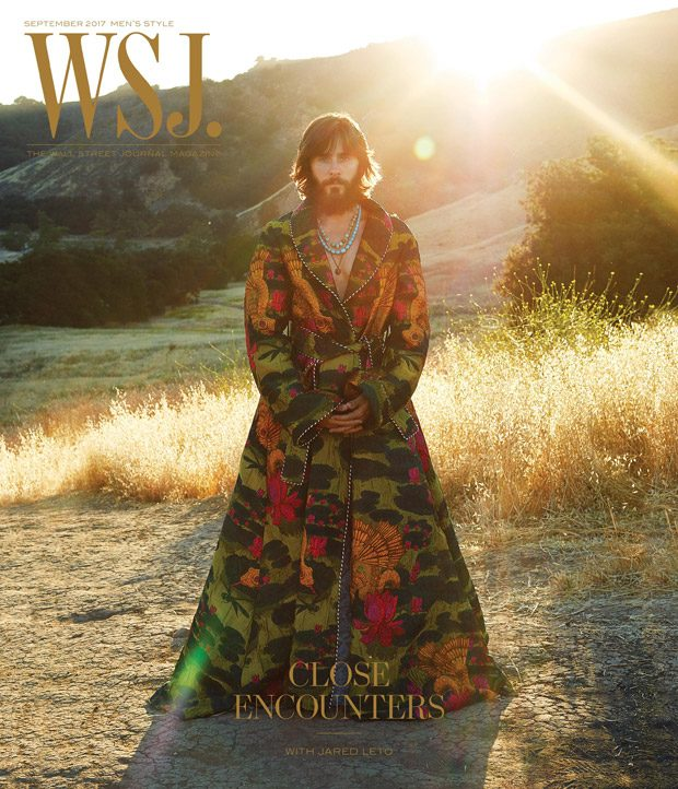 Jared Leto is the Cover Star of WSJ Magazines September 2017 Mens