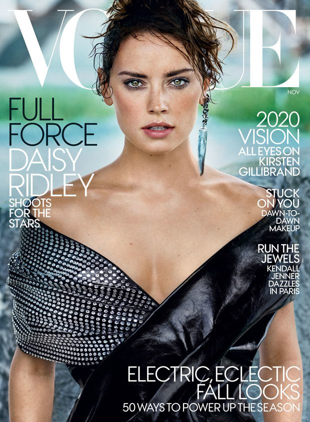 The Last Jedi: Daisy Ridley Stuns for American Vogue November 2017 Issue