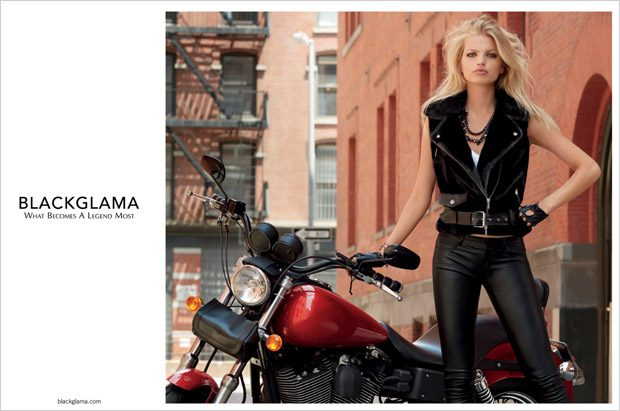 Daphne Groeneveld Models Blackglama Fall Winter 2017.18 Collection