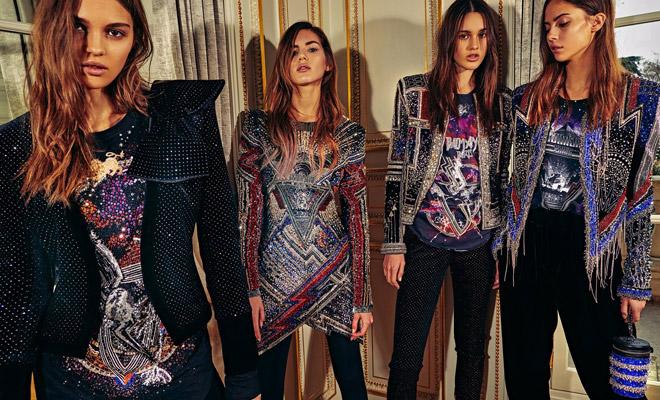2bdd16a7 Discover BALMAIN Pre-Fall 2018 Womenswear Collection