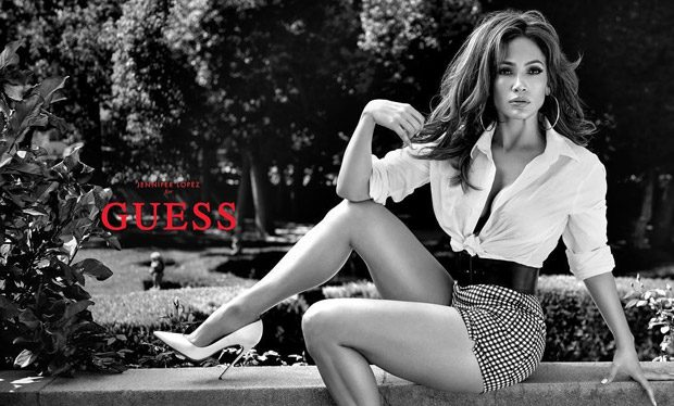 Jennifer Lopez is the Face of Guess Spring 2018 Collection