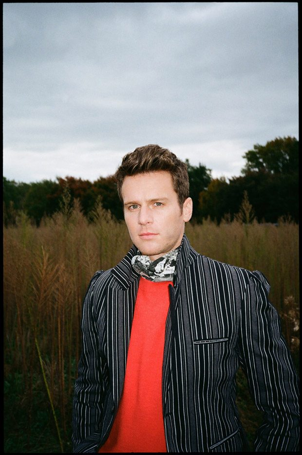 Mindhunter Star Jonathan Groff Poses for Interview Magazine