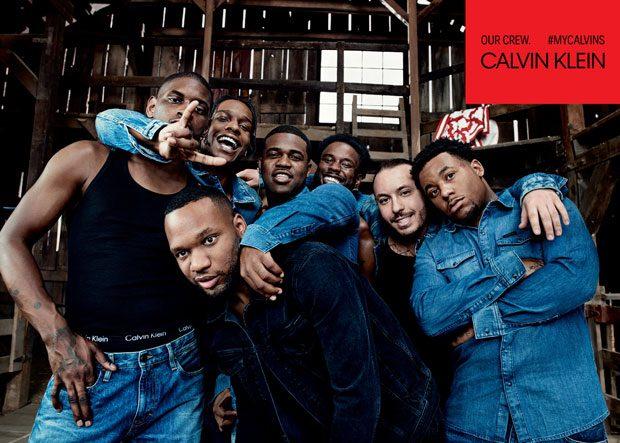CALVIN KLEIN UNDERWEAR   CALVIN KLEIN JEANS Featuring A$AP Mob