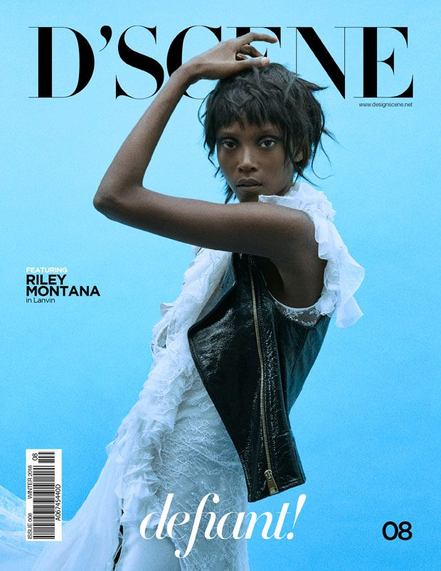 Riley Montana In LANVIN for D'SCENE 08 – COMING SOON